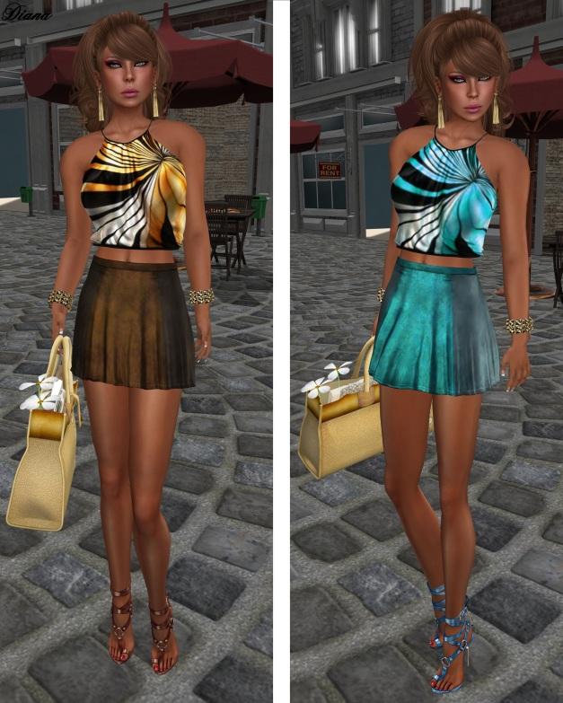 Baiastice - Lari Halter Neck Top and Didi Skirt-2