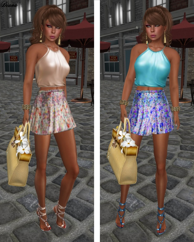 Baiastice - Lari Halter Neck Top and Didi Skirt-3