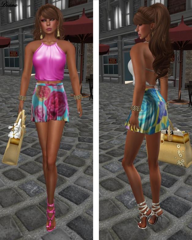 Baiastice - Lari Halter Neck Top and Didi Skirt-4