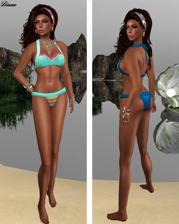 coldLogic - bikini seaside and summer