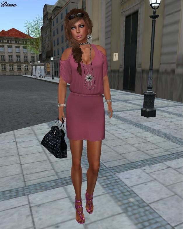 coldLogic - dress capriati berry