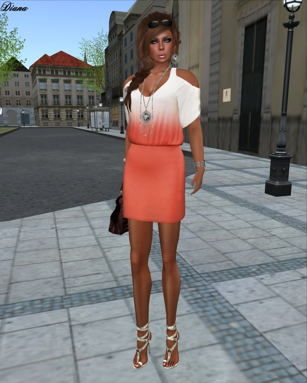 coldLogic - dress murray apricot