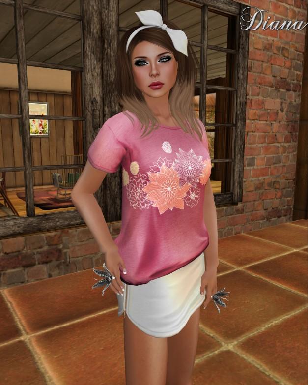 erratic - mindy tshirt and sally zipperskirt-2