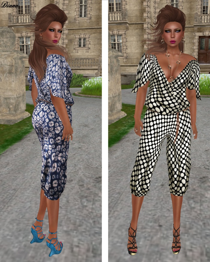 GizzA - Jumpsuit (Floral - Spotty)