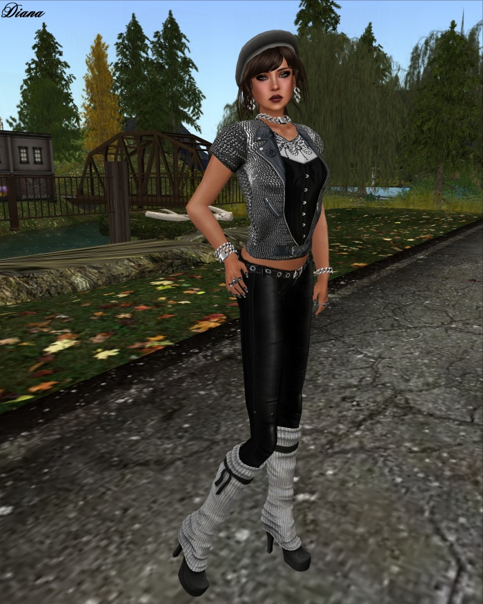 Immerschoen-BodyCult - Mesh Shirts Melicia black