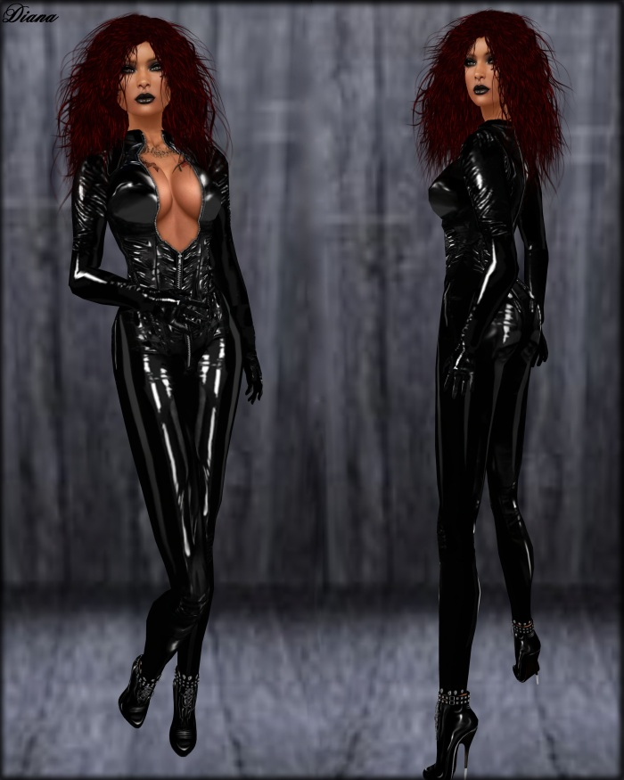 Immerschoen - Latex Catsuit Donna