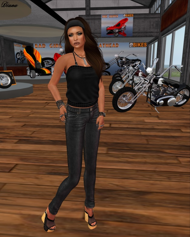 Lapointe & Bastchild - Slim Denim Jeans black