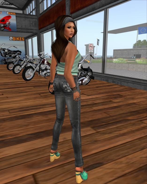 Lapointe & Bastchild - Slim Denim Jeans slate