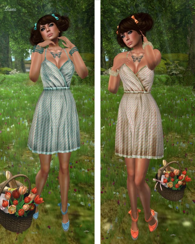 GizzA - Picnic Dress Hackberry