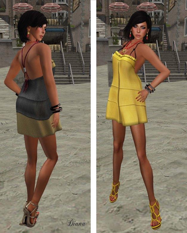 Miel - Nautica Dress-1