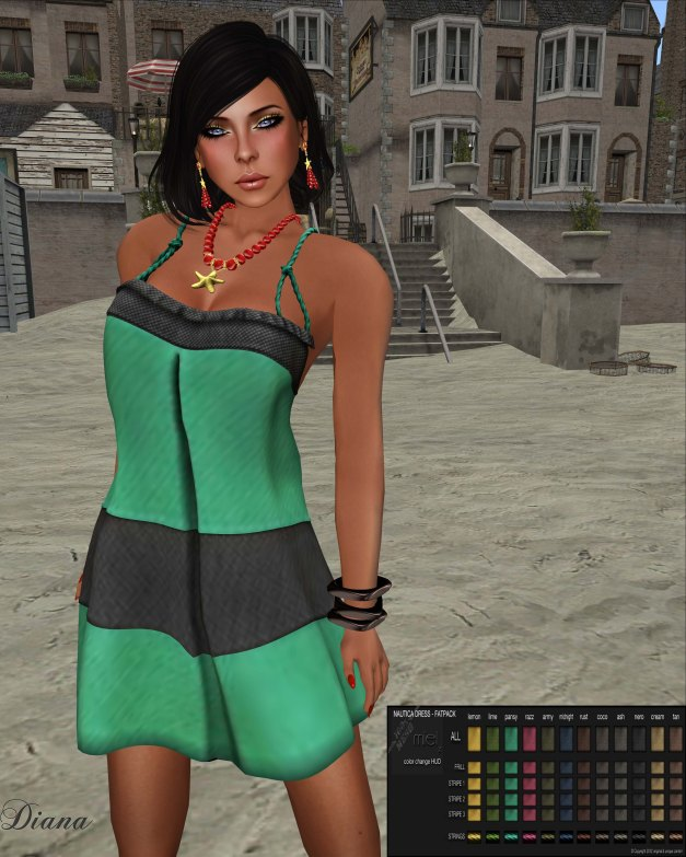 Miel - Nautica Dress-2