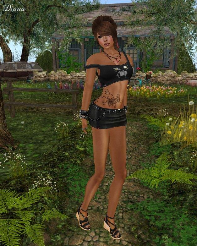 NV - Bov Top Panter and Ducknipple - Rona Skirt