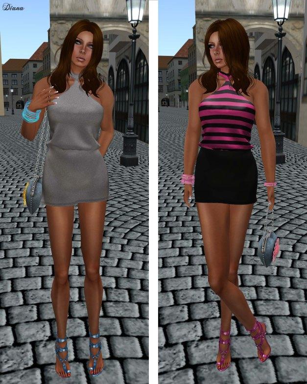 Poised - Spin Mesh Dress-1