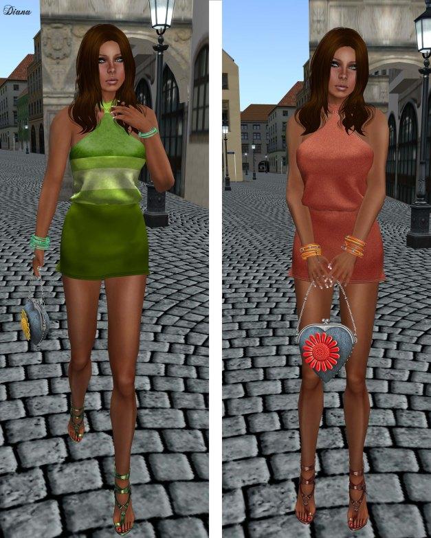Poised - Spin Mesh Dress-2