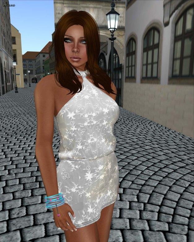 Poised - Spin Mesh Dress-4