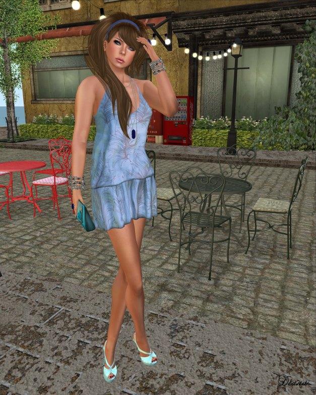 Baiastice - Ayoun dress-print pavon