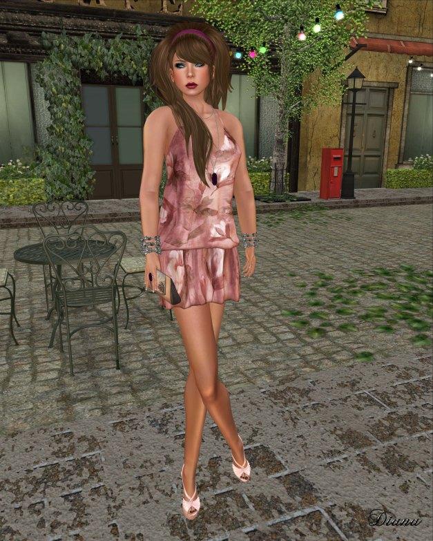 Baiastice - Ayoun dress-print venice