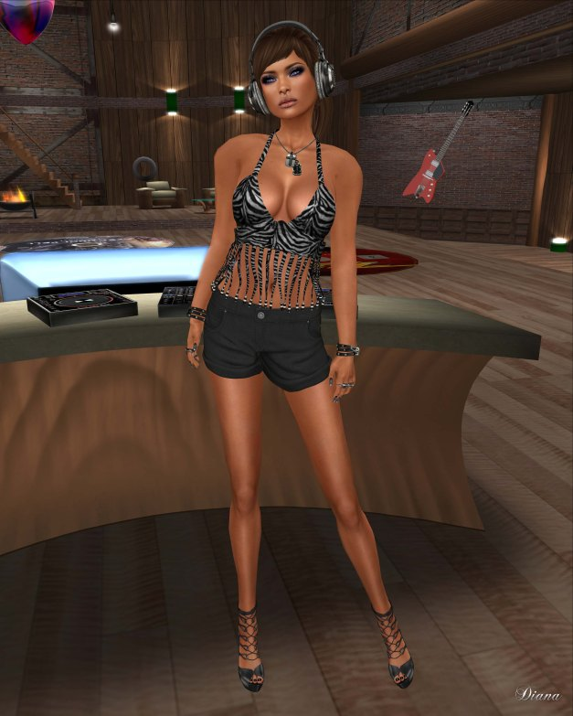CaTwA - Street Beaded Fringe Top and Entente - Court Shorts-1