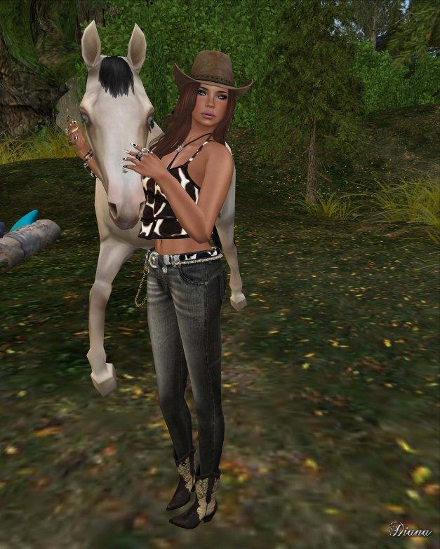 Lapointe & Bastchild - S'Wear Bianca Camisole Top-Animals-1