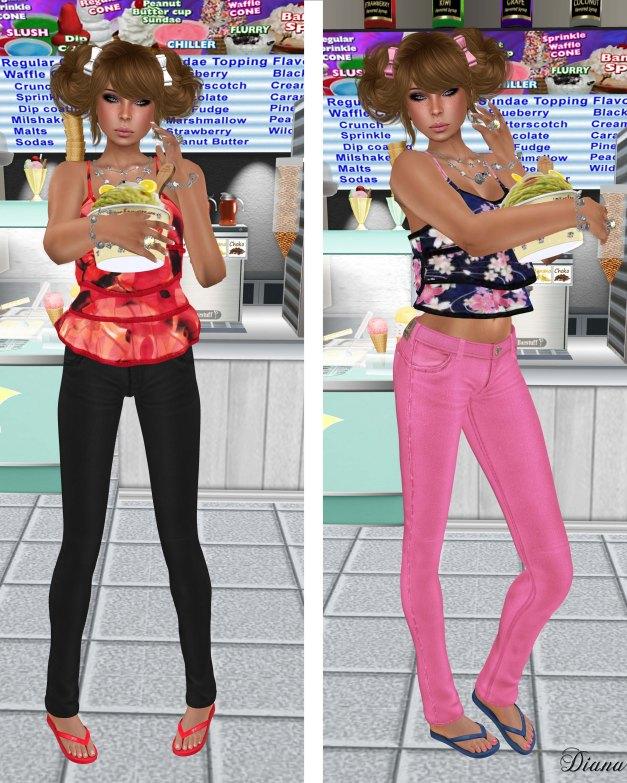 Lapointe & Bastchild - S'Wear Bianca Camisole Top-Floral-2