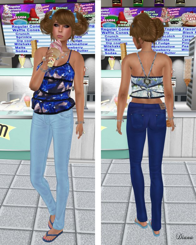 Lapointe & Bastchild - S'Wear Bianca Camisole Top-Floral-3