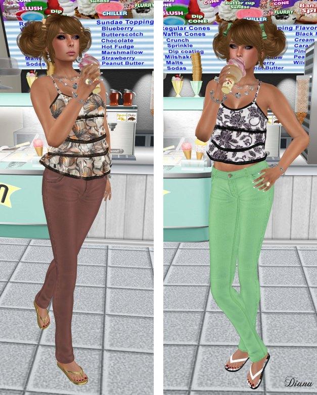 Lapointe & Bastchild - S'Wear Bianca Camisole Top-Floral-4