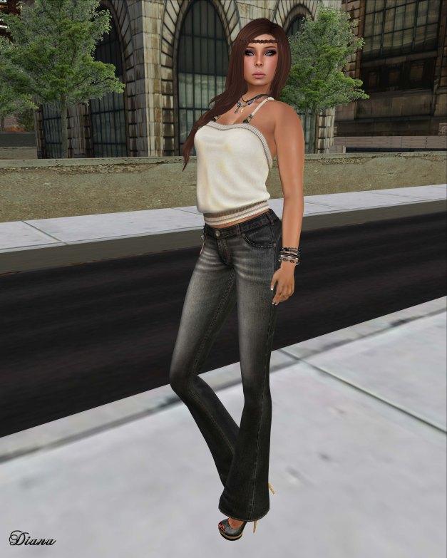 Lapointe & Bastchild - S'Wear Jeans Flare Womens-1