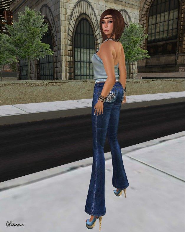 Lapointe & Bastchild - S'Wear Jeans Flare Womens-2