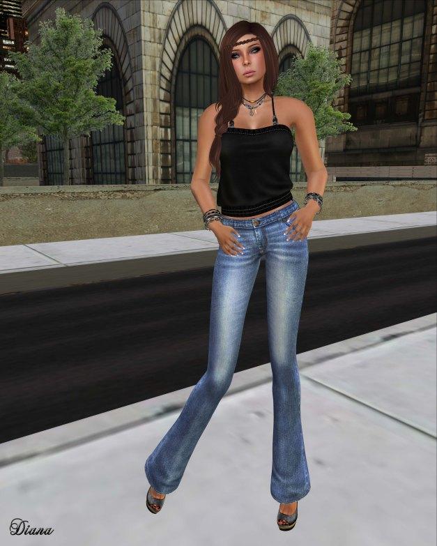 Lapointe & Bastchild - S'Wear Jeans Flare Womens-3