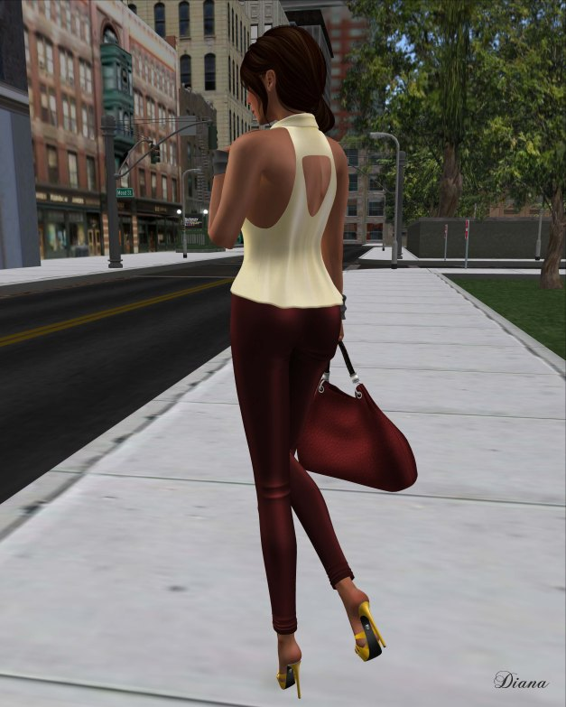 !Rebel Hope - Allie Mesh Leather Pants red and Betty Mesh Top utter
