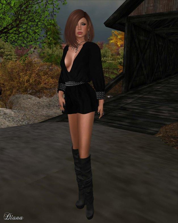 Ricielli - Mesh Papi Jumpsuit II black