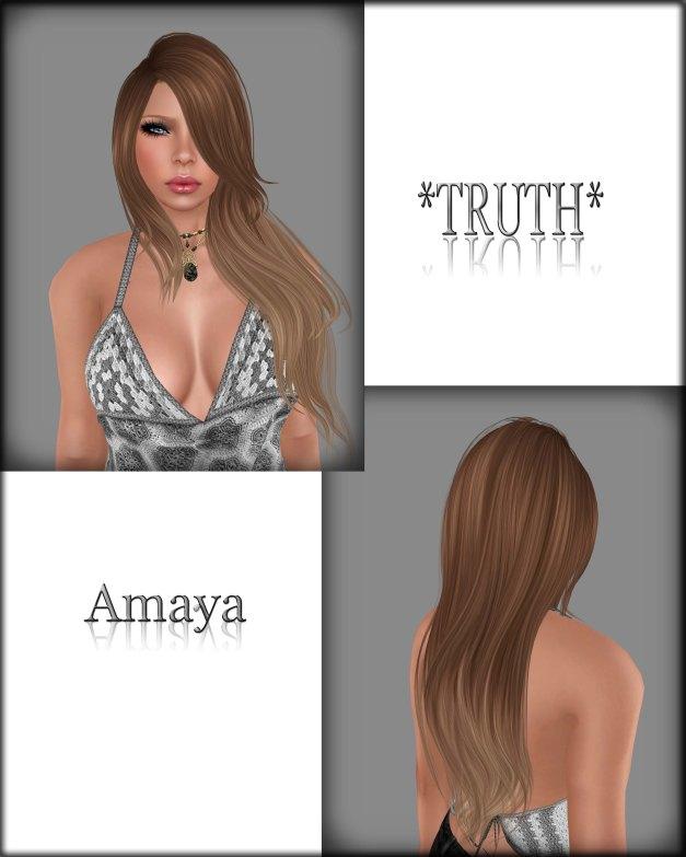 Truth - Amaya Mesh LightBrowns01Fade