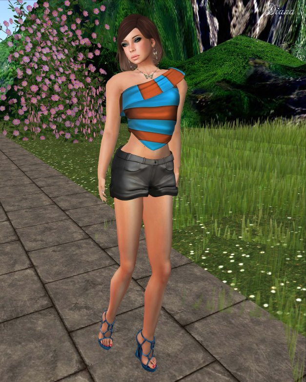 Valentina E. Couture - Boardwalk Top and Hampton Shorts