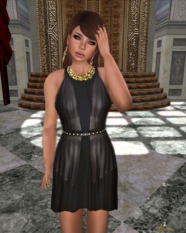 Baiastice - Claudette Dress black