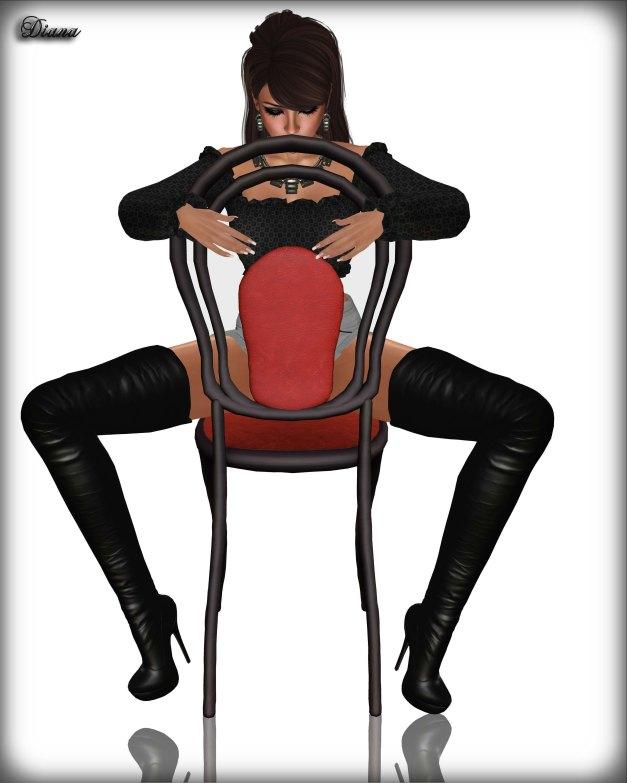 BAX - Regency Boots Black Leather