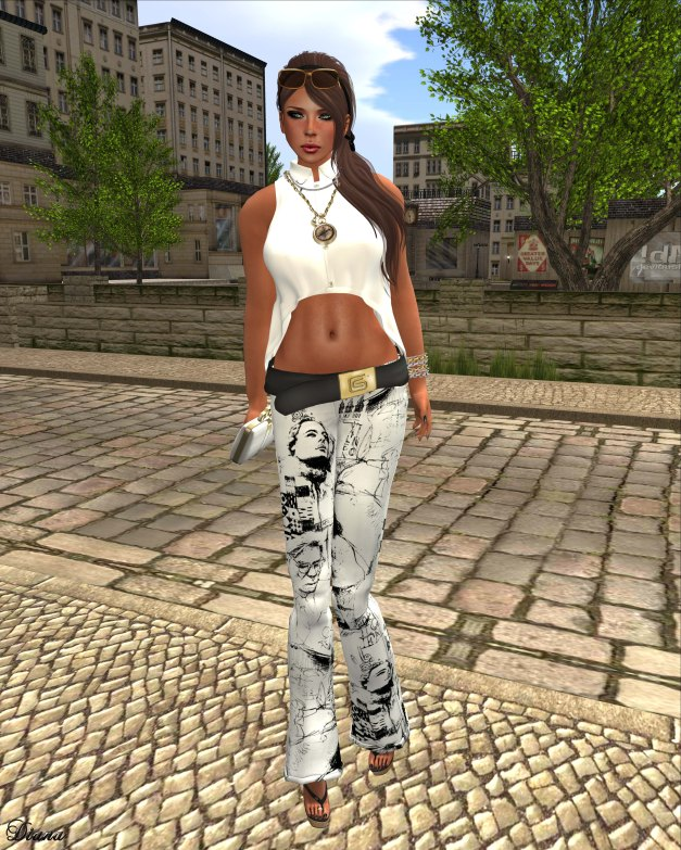 GizzA - Hannah Outfit Monochroma