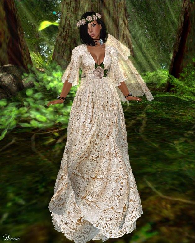 GizzA - Neva Dress salmon