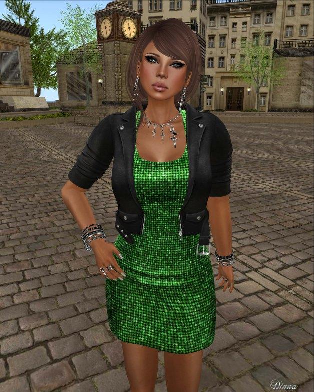 !Rebel Hope - Lyra Mesh Sequin Dress and Kyndal Mesh Leather Jacket-2