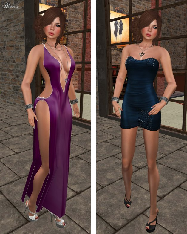 Sassy! - Dare Gown and Lethal Embrace