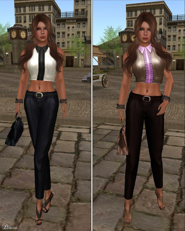 Baiastice - Luis Sleeveless Shirt and Cigarette Trousers-1
