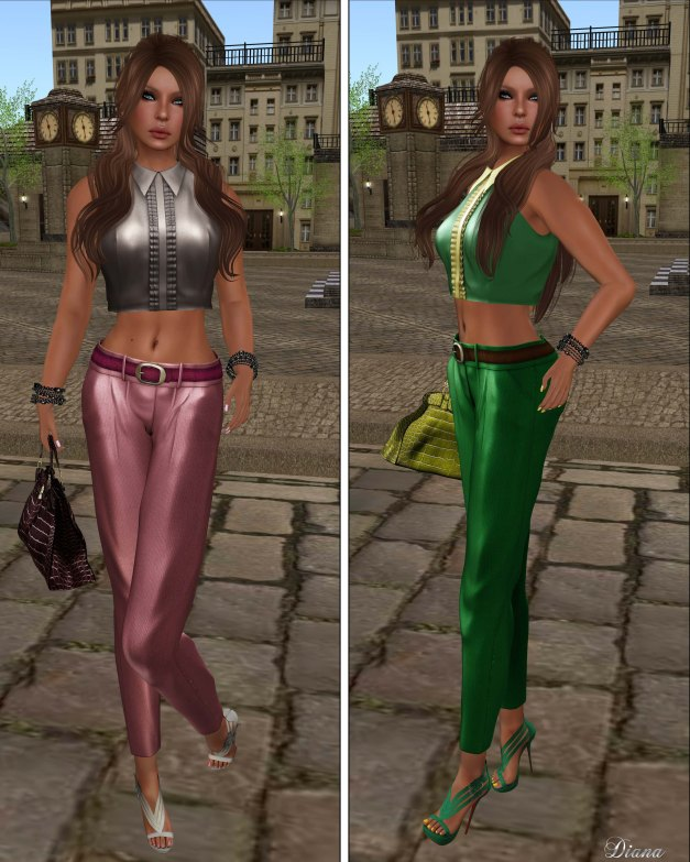 Baiastice - Luis Sleeveless Shirt and Cigarette Trousers-3