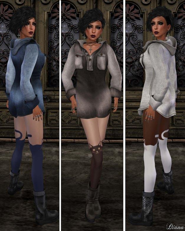 Gabriel - Hoody Dress-1