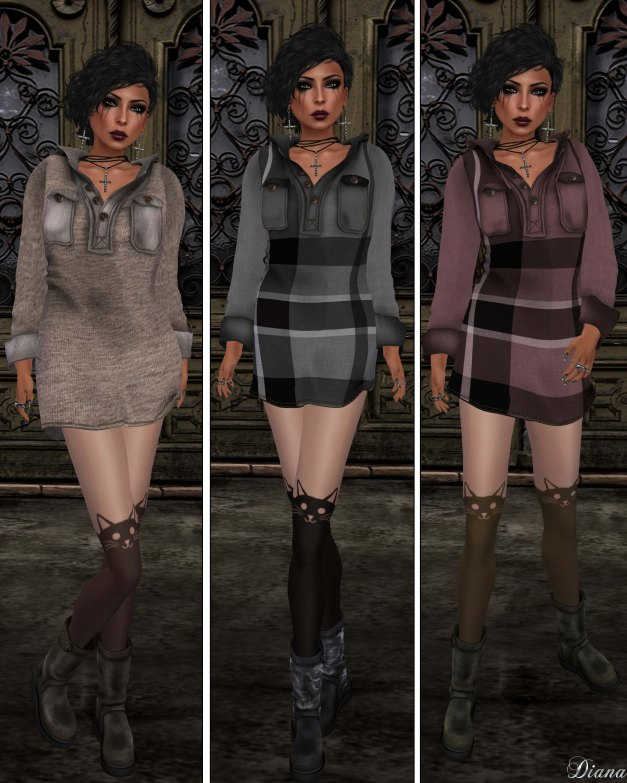 Gabriel - Hoody Dress-2