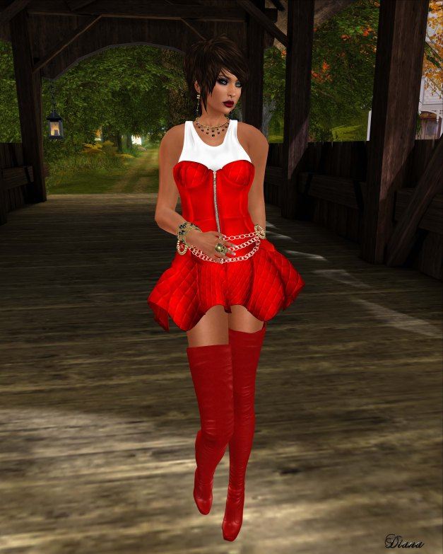 GizzA - Anarchy Outfit V2 red