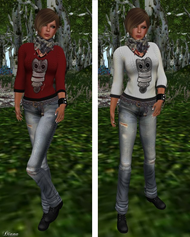 Immerschoen-BodyCult - Mesh Shirts Hedwig the Owl 3 Colors Kit-2
