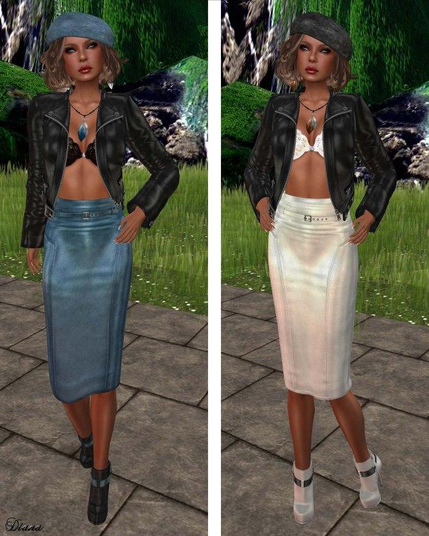 Lapointe & Bastchild - Pencil Skirt-1