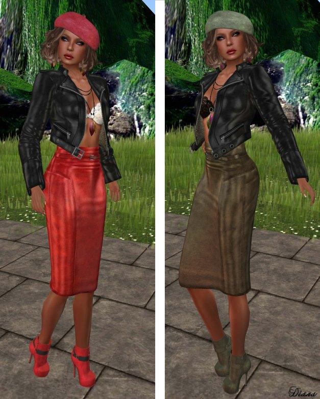 Lapointe & Bastchild - Pencil Skirt-2