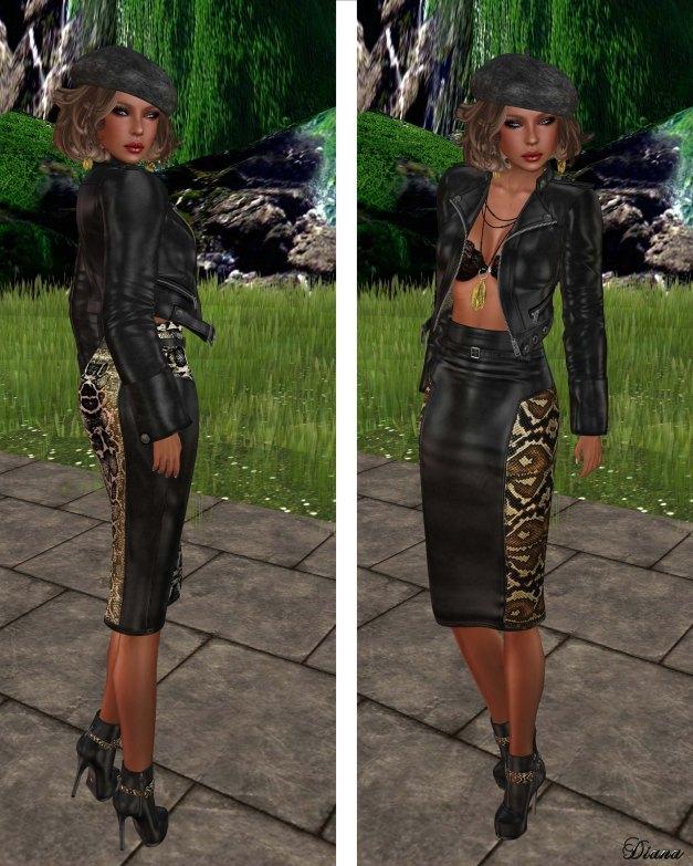 Lapointe & Bastchild - Pencil Skirt-3