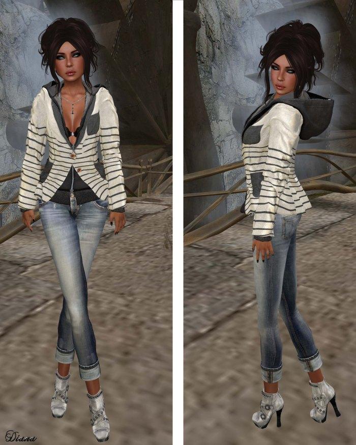chronokit - Hoodie01 and Tailored Jacket