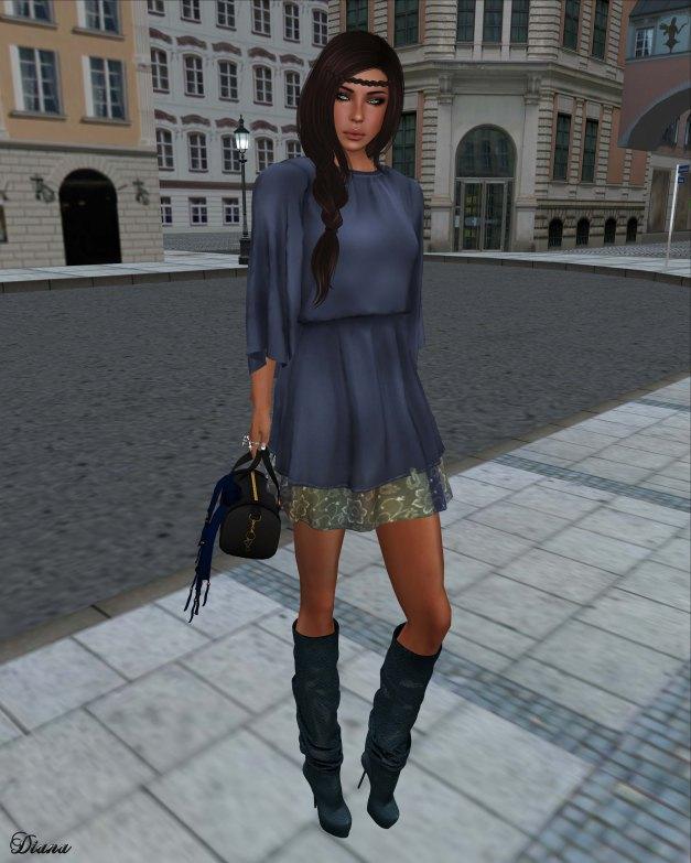 coldLogic - dress zach blue